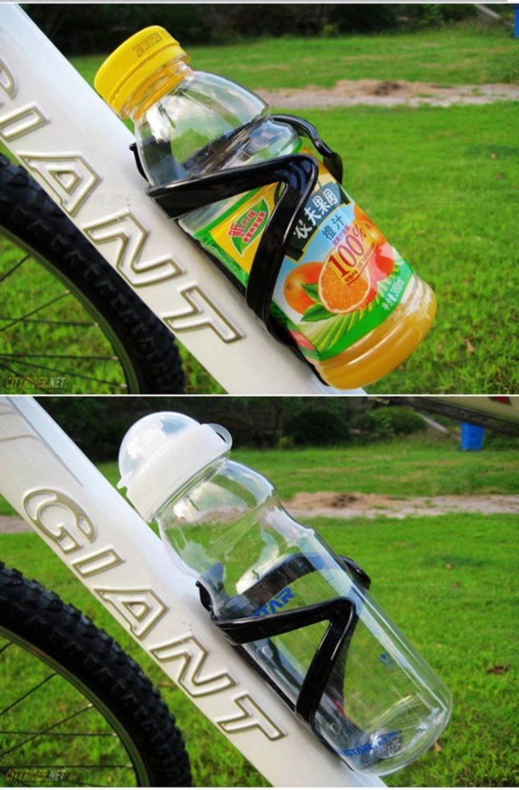 Porte-bouteille dEau de V/élo VTT Porte-bidon en Plastique Support Gourde Bicyclettes pour Cyclisme