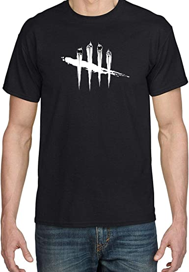 Amazon Com Cool Zhangu Men S Dead By Daylight Logo Black T Shirt Clothing By ★ osaki creations ★. cool zhangu men s dead by daylight logo