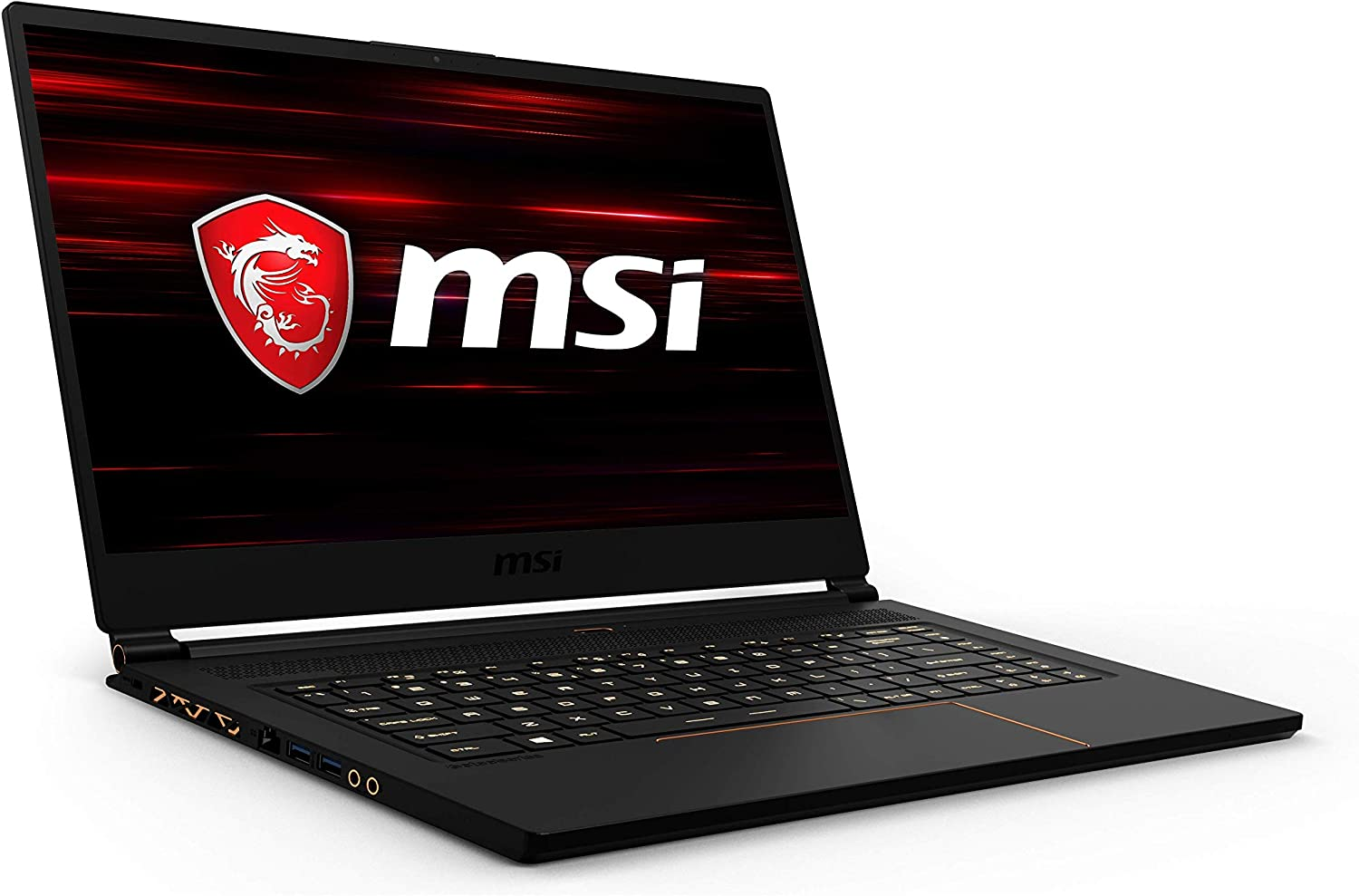 "MSI GS65 Stealth-1667 Thin 15.6"" 240Hz 8ms Ultra Thin and Light Gaming Laptop Intel Core i7-9750H RTX2060 32GB 512GB NVMe SSD TB3 Win10 VR Ready"