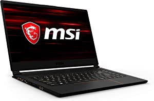 "MSI GS65 Stealth-1668 Thin 15.6"" 144Hz 7ms Ultra Thin and Light Gaming Laptop Intel Core i7-9750H GTX1660Ti 16GB 512GB NVMe SSD TB3 Win10 VR Ready"