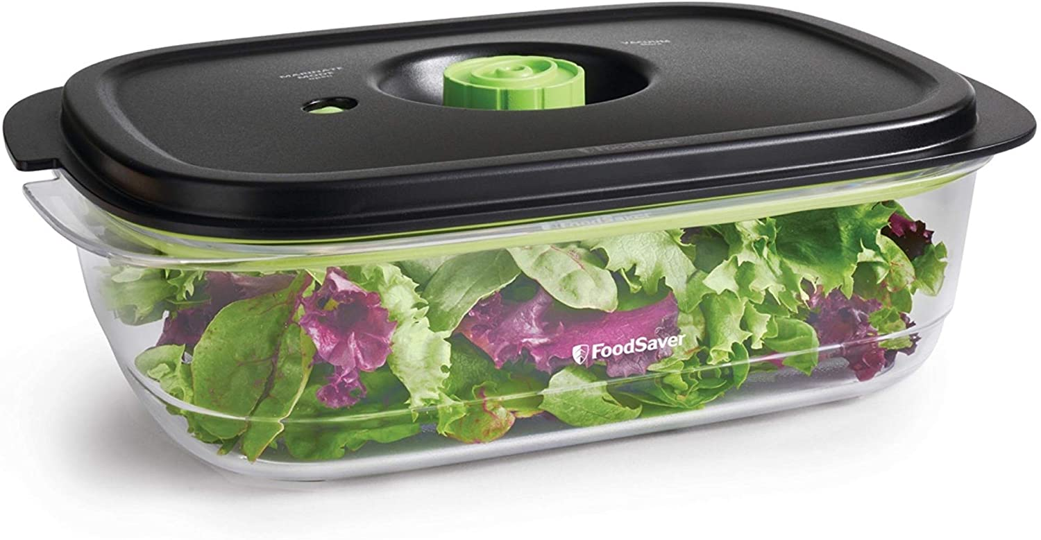 FOODSAVER 2129973 Preserve & Marinate Vacuum Containers, 10 Cup, Clear