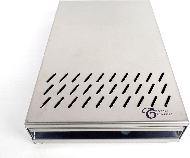 qualit/é standard 200 x 300 x 55 mm EDESIA ESPRESS Tiroir /à marc de caf/é poign/ée int/égr/ée