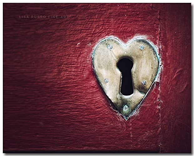Amazon Red Heart Print Dublin Ireland Photography Key To My