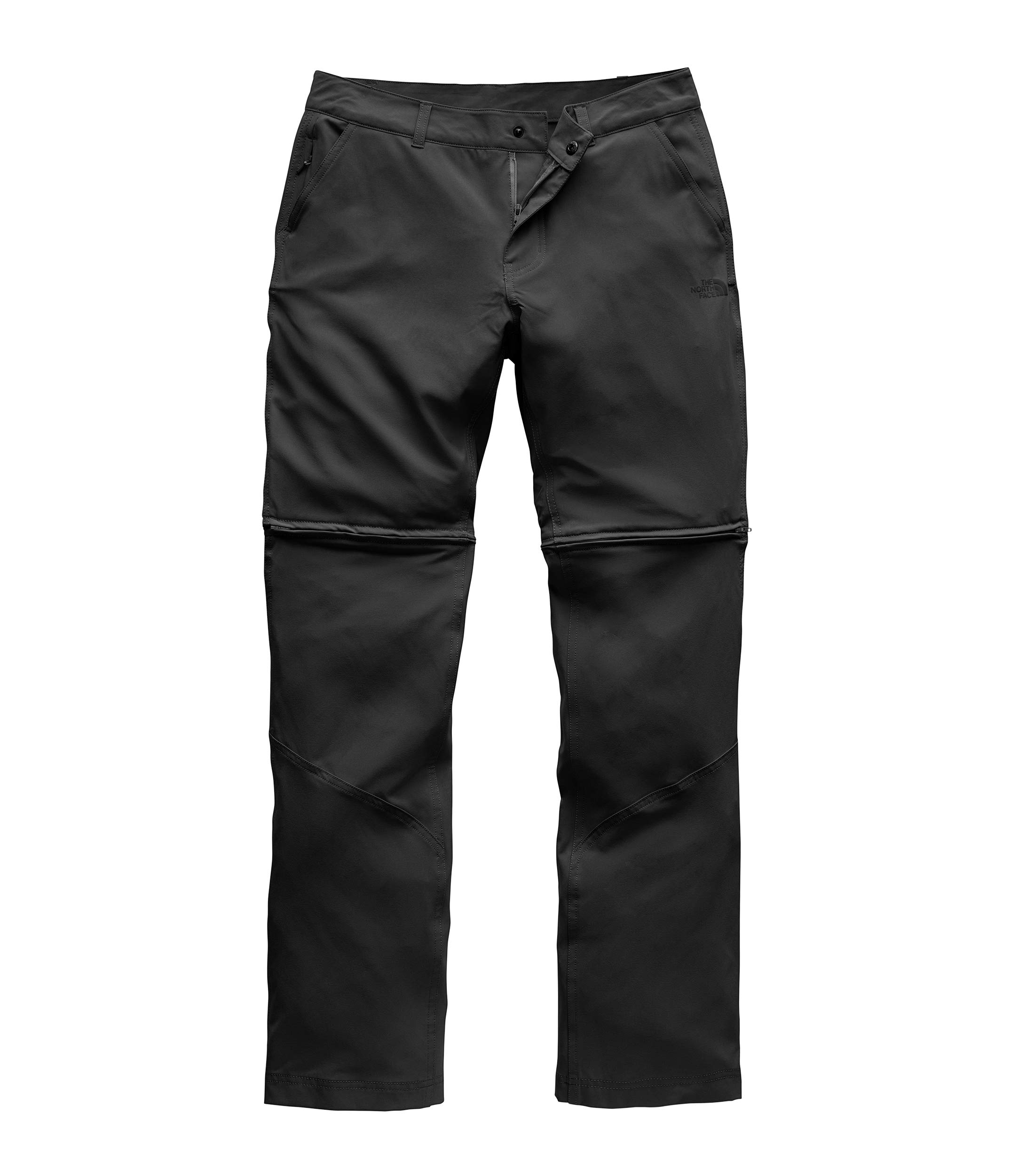 The North Face Women's Paramount Convertible Pant, TNF Black, Size 0 Long