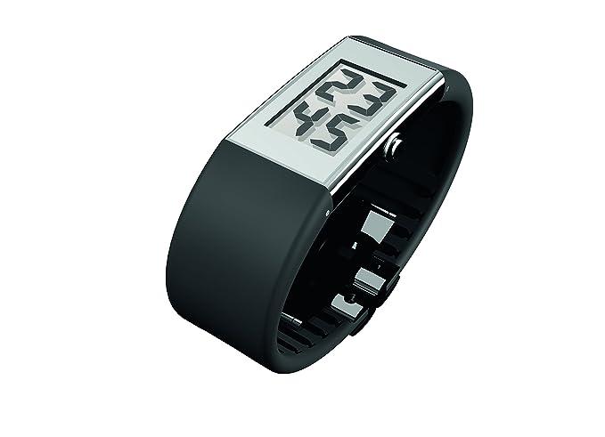 Rosendahl Watch II - Reloj digital de mujer de cuarzo con correa de goma negra - sumergible a 30 metros: Rosendahl: Amazon.es: Relojes