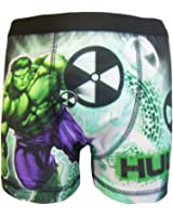 The Incredible Hulk Little Boy's 1 Pack Boxer Shorts