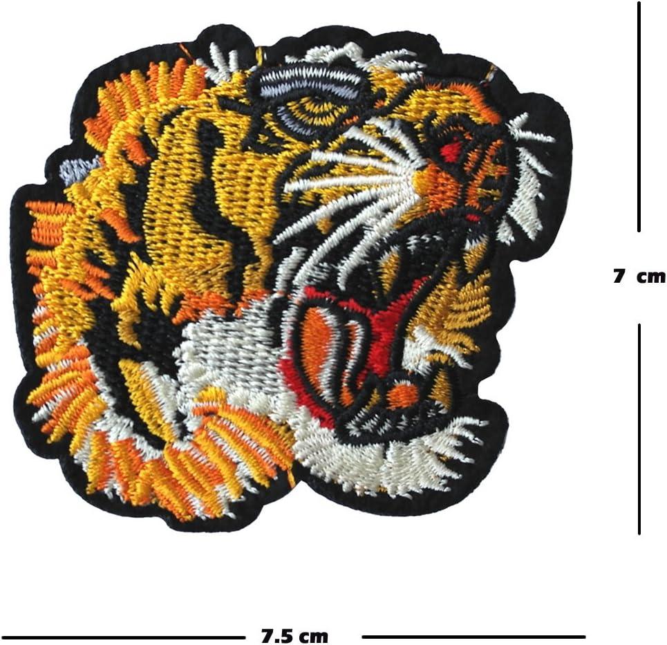 Tiger Cat parche bordado hierro en o coser en bordado Diseño de ...