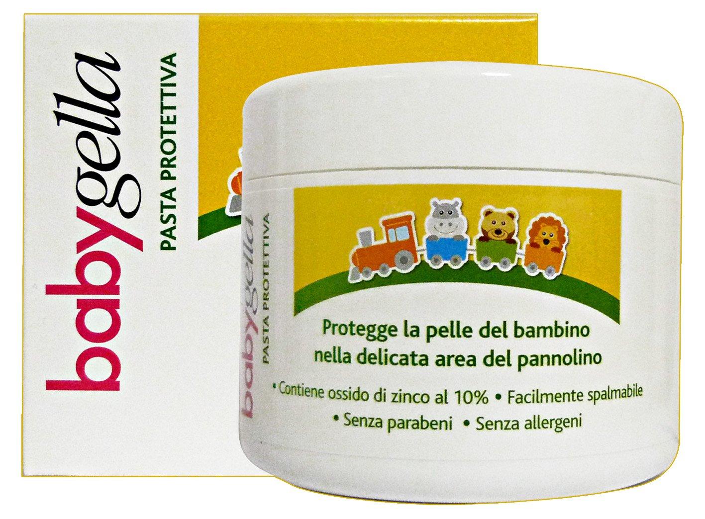 Creme Pasta Protettiva Con Olio Di Mandorle Dolci E Ossido Di Zinco Vaso 150 Ml BABYGELLA BBG00012