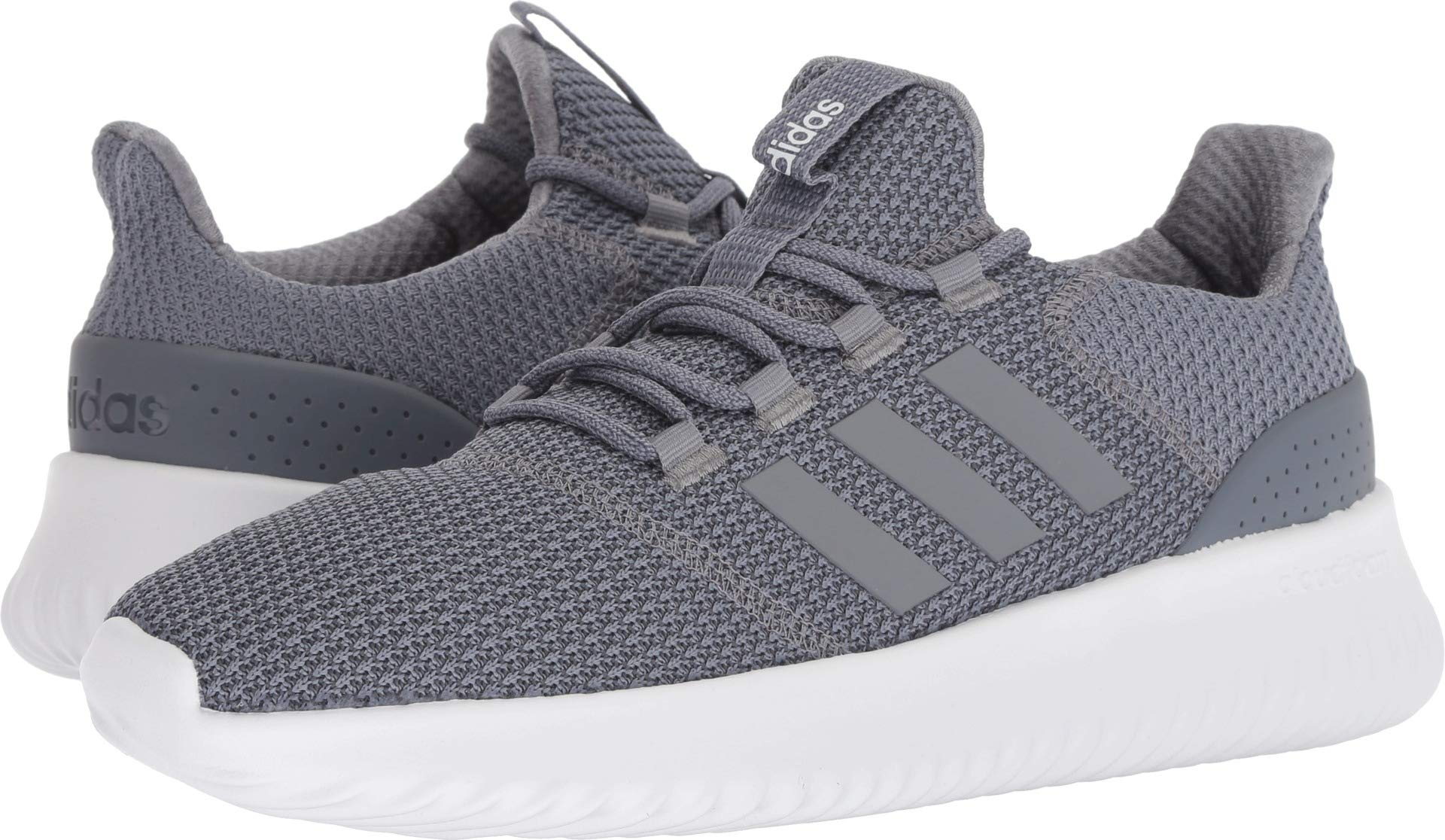 new style edc37 7a5c4 Galleon - Adidas Men s Cloudfoam Ultimate Running Shoe (Grey Grey Onix 12.5)