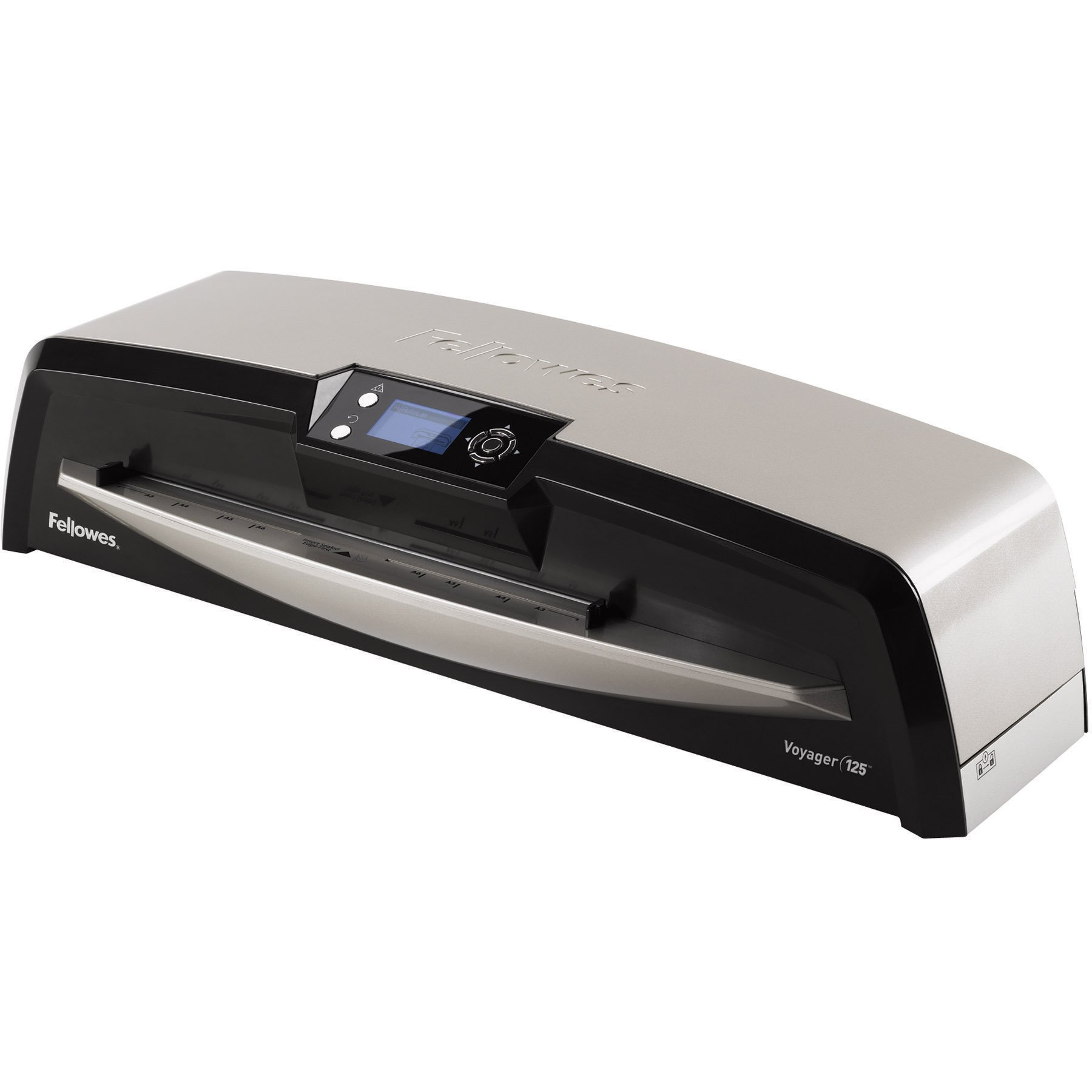 Fellowes Laminator Voyager 125, Automatic Features, Jam Free Laminating Machine, with Laminating Pouches Kit (5218601) by Fellowes