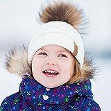 Kids Pom Beanie Winter Hat - FURTALK Girls Boys