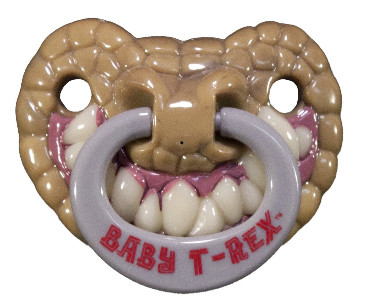 Amazon.com: Billy Bob Chupete Dientes 90046 bebé T-Rex: Baby