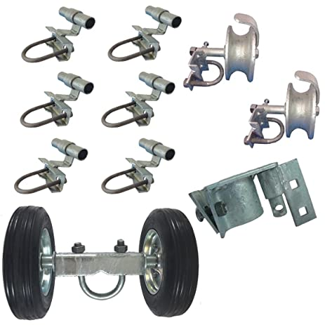 chain link fence rolling gate parts. 6\u0026quot; chain link rolling gate hardware kit: (chain link fence gate parts) chain link fence rolling gate parts