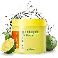 Goodal Green Tangerine Vitamin C Toner Pads with '5-IN-1' Effect   Exfoliates, Tones...