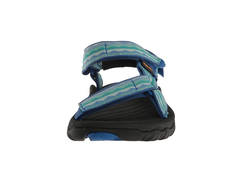 Teva Women's Hurricane XLT Sandal, Hazel Black, 9 US B071VDJ33P 5 B(M) US|Lagoon-blue
