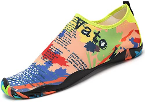 SAGUARO Zapatos de Agua Zapatillas de Playa Verano Barefoot Escarpines  Antideslizante Calzado de Surf para Hombre Mujer  Amazon.es  Zapatos y  complementos 94642d7c3b6