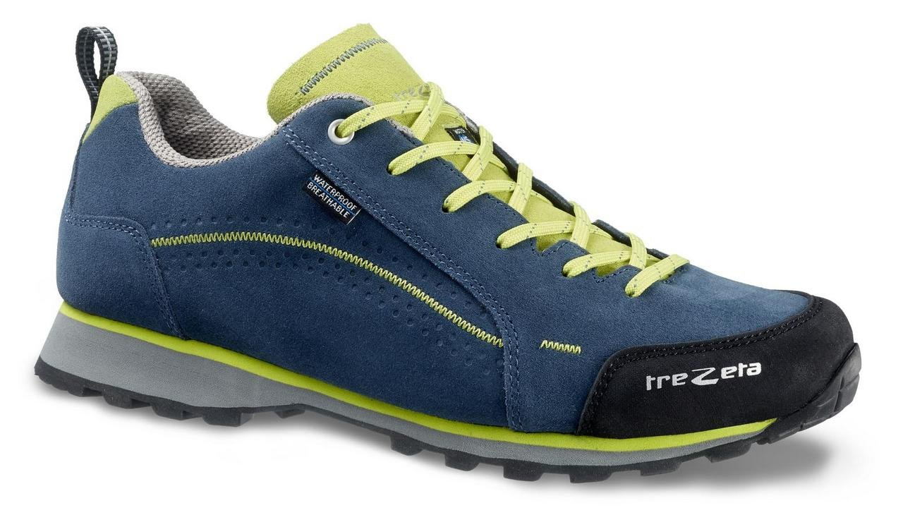 TREZETA Schuhes Herren Flow WP Outdoor Lifestyle Blau-Grün