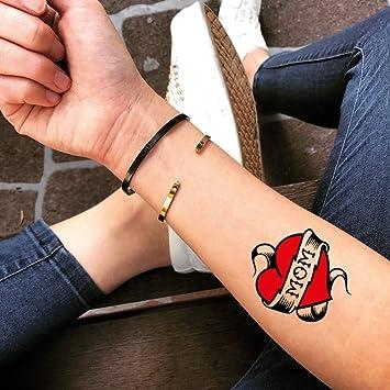 Tatuaje Temporal de Mamá (2 Piezas) - www.ohmytat.com: Amazon.es ...