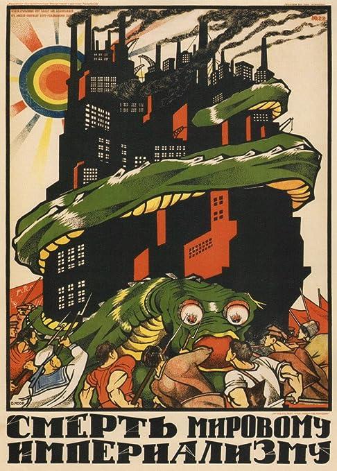 World of Art - Lámina de cartel de propaganda soviético de ...