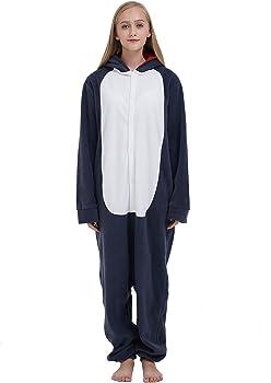 Pijama Animal Entero Unisex para Adultos con Capucha Cosplay ...