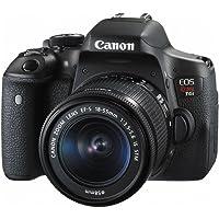 EOS Rebel, Canon, T6i EF-S 18-55mm IS STM BR, Preta