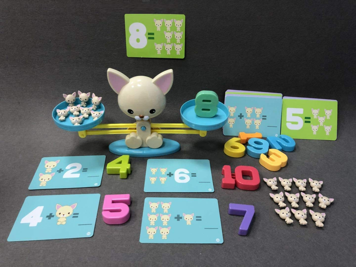 Fun Educational Math Counting Dogs Numbers Game Toy Baby Toddler Learning Addition Subtraction FKG