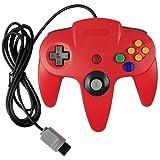 Generic Classic Nintendo 64 N64 Controller Red