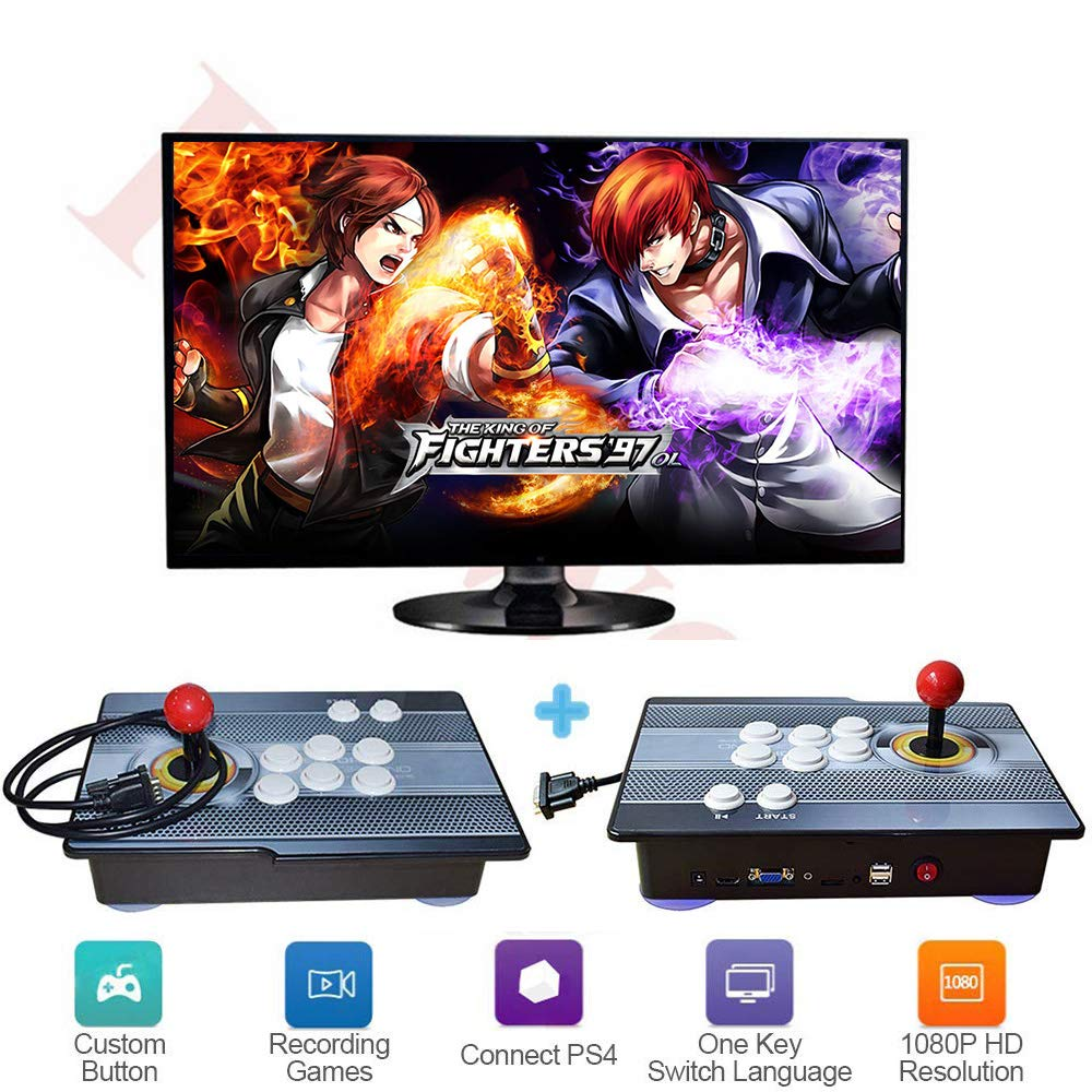 PinPle Arcade Game Console 1080P 3D & 2D Games 2020 in 1 Pandora's Box Kit Classic Arcade Game Machine 2 Players Arcade Machine Arcade Joystick Support Expand 6000+ Games for King of Fighters by PinPle (Image #1)