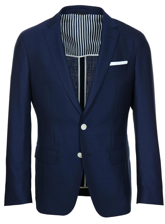 ec634172f Amazon.com: Hugo Boss Men's Hartlay Slim Fit Casual Sport Coat - Navy -  38R: Clothing