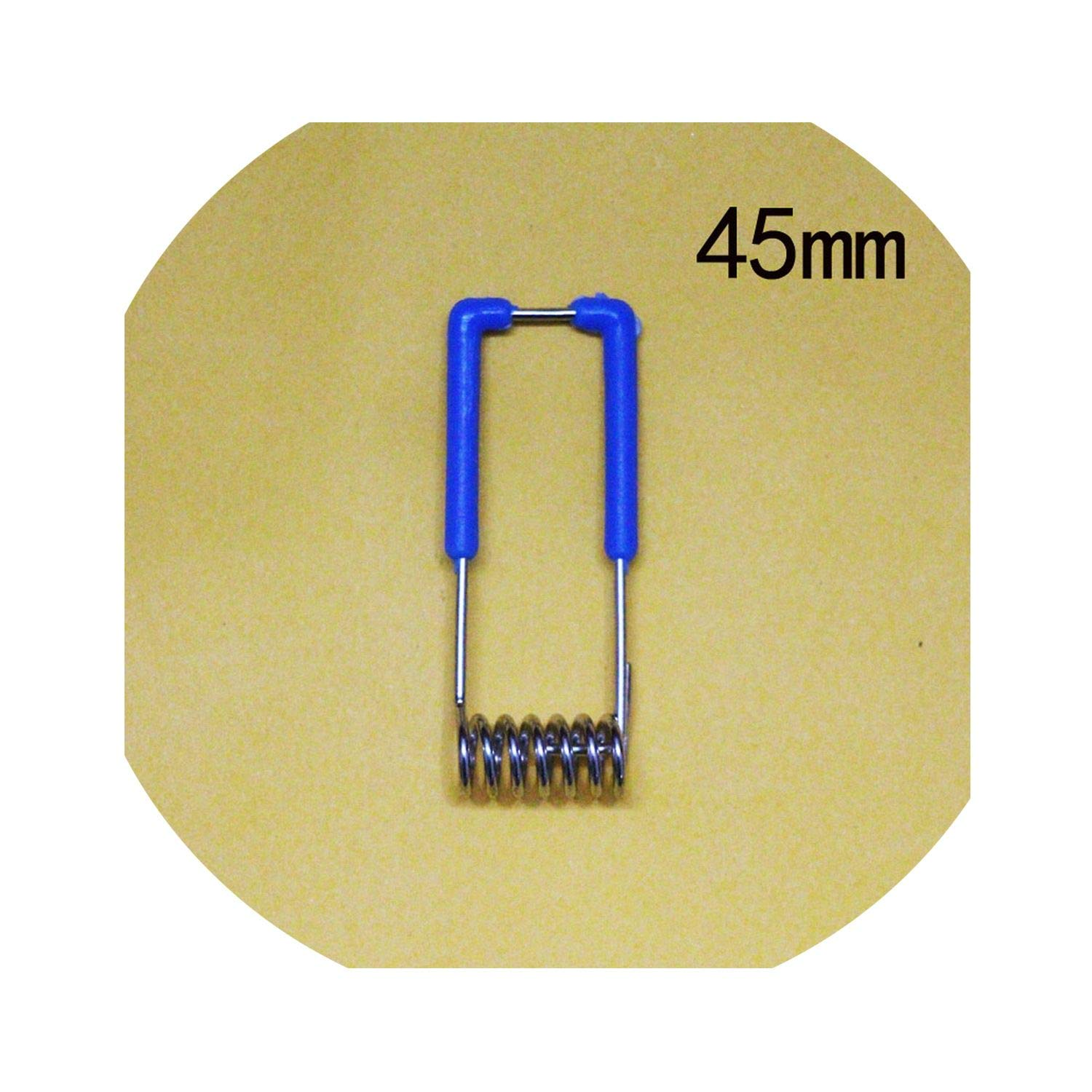 500 Pcs/Lot,45Mm Fixed Spring Clip For Ceiling Lamp, Spotlights, Downlight,As Picture