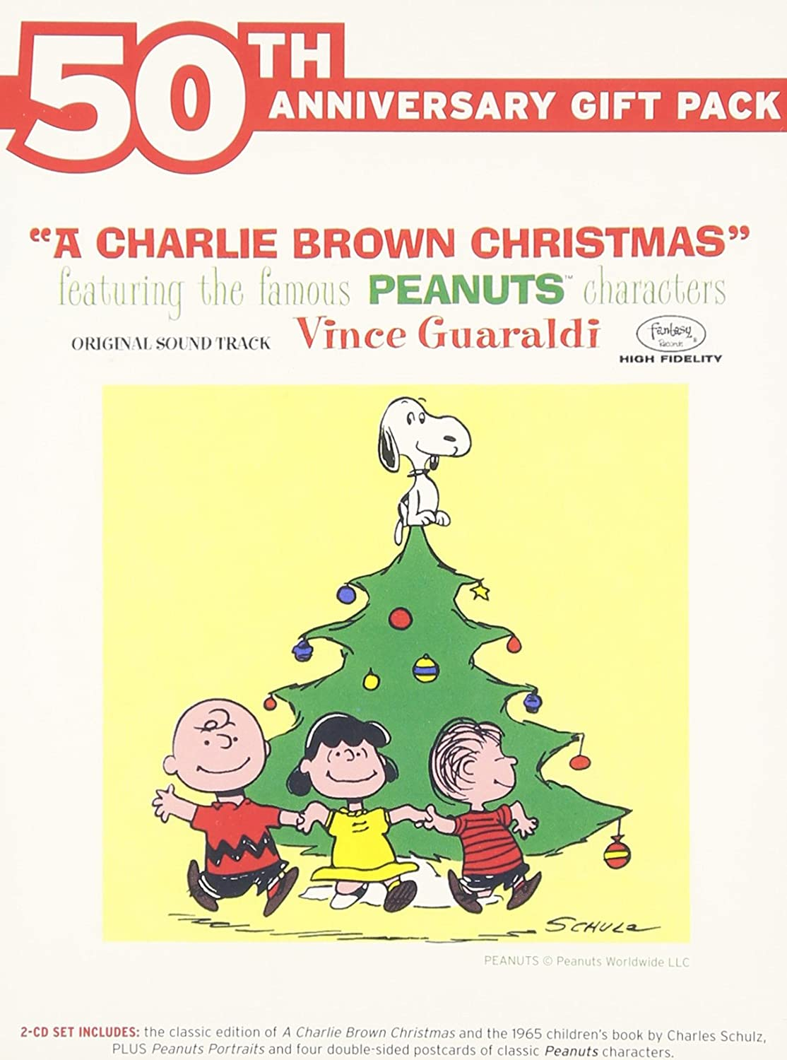 Charlie Brown Christmas 50th.A Charlie Brown Christmas 50th Anniversary Gift Pack