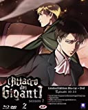 L' Attacco Dei Giganti  - Stagione 02 #02 (Eps 05-08) (Ldt Ed) (Blu-Ray+Dvd)