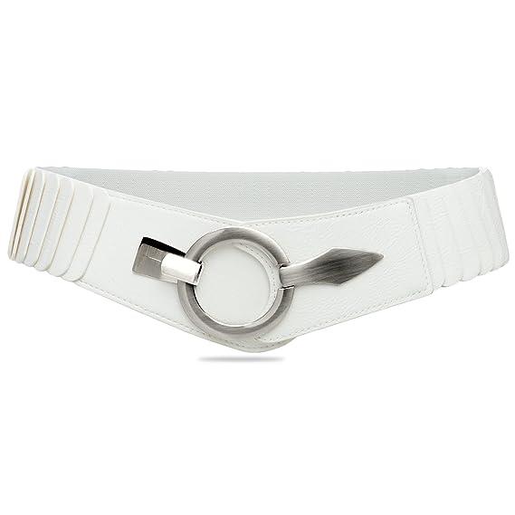 fadb5c05e0e5 CASPAR GU300 Large ceinture élastique en stretch pour femme - Ceinture pour  hanches - Ceinture pour