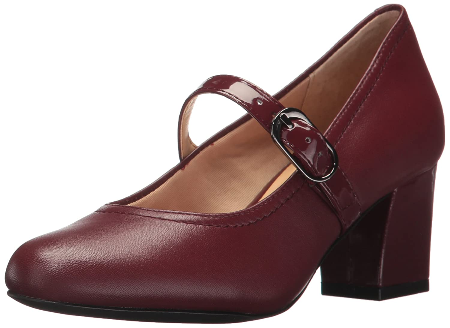 Dark red Tredters Womens Candice Dress Pump