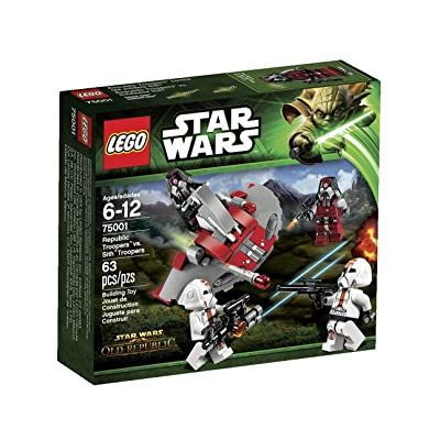 LEGO Star Wars Republic Troopers vs Sith Troopers 75001: Toys & Games