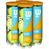 Wilson Prime All Court Tennis Ball - 4 Can Pack