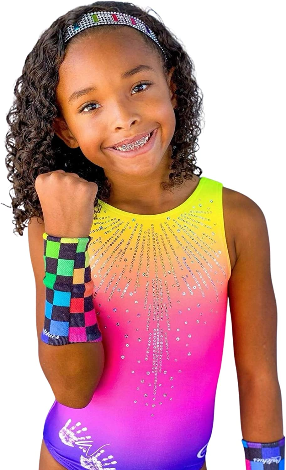 5.25 Inch Length Gymnast Wrist Bands Catchies Gymnastics Wristbands for Girls Variety Styles