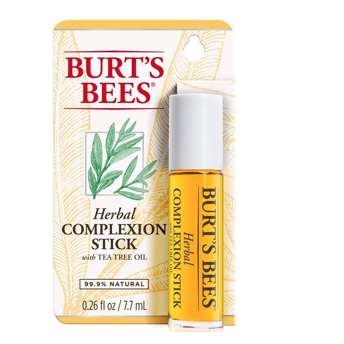Burt's Bees Herbal Complexion Stick (Pack of 2)