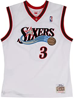 df09f19e74cd Mitchell   Ness Allen Iverson 2000-01 Philadelphia 76ers Home Swingman  Jersey