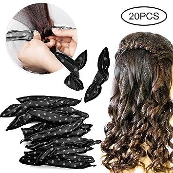MOGOI Rizador de pelo de espuma, 20 piezas de rodillos de ...