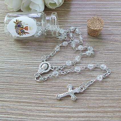12 PCS Boys First Communion Favors Rosaries Rosarios Rosary Comunion Recuerdos