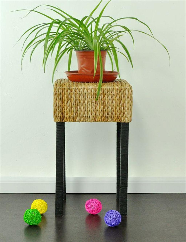 LB huajia ZHANWEI Holzboden Blumentopf Regal, Pflanze Stand Regal, Blume Rack (größe : L)
