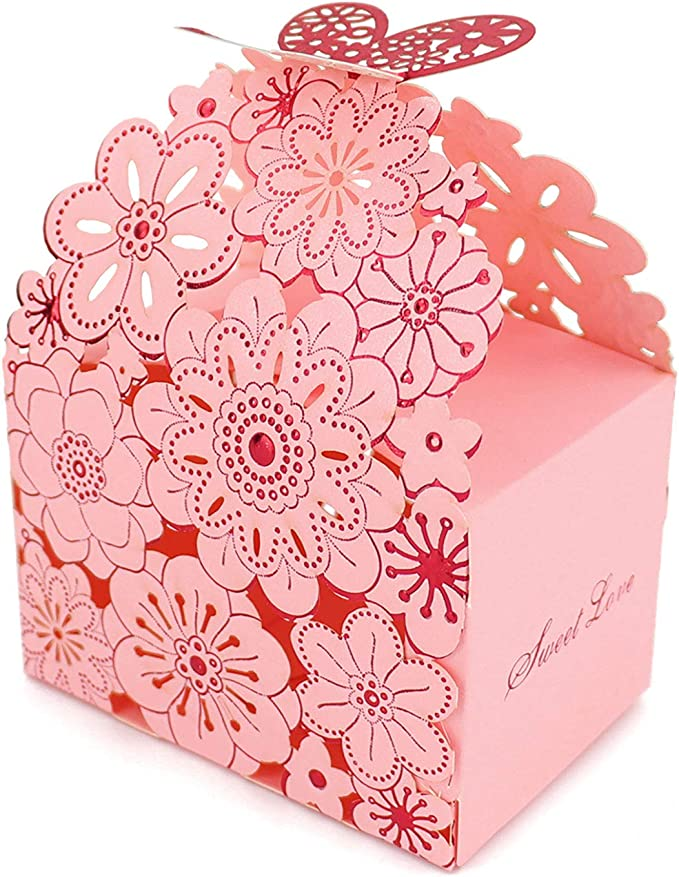 Candy Boxes Gift Organizer Romantic Sweets Chocolate Cake Shape Box Wedding LH