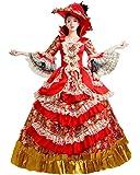 Zukzi Women's Prom Gothic Victorian Fancy Palace Masquerade Dresses