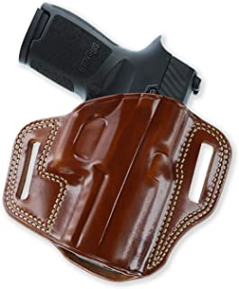 product image for GALCO CM226 Combat Master Right Hand Tan Leather Belt Holster