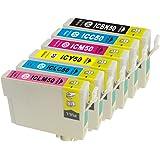 EPSON IC6CL50 互換インクカートリッジ 6色セット