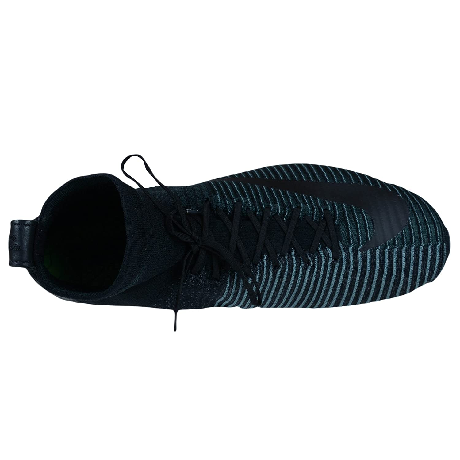 Black//Hasta-Seaweed Nike Zoom Mercurial XI Flyknit FC Mens fashion-sneakers c/_852616-001/_11.5