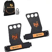 Nova imboxs Calleras para Crossfit - Grips 3H Fibra de Carbono - Guantes para Cross Training Agarre y Protector de Mano…