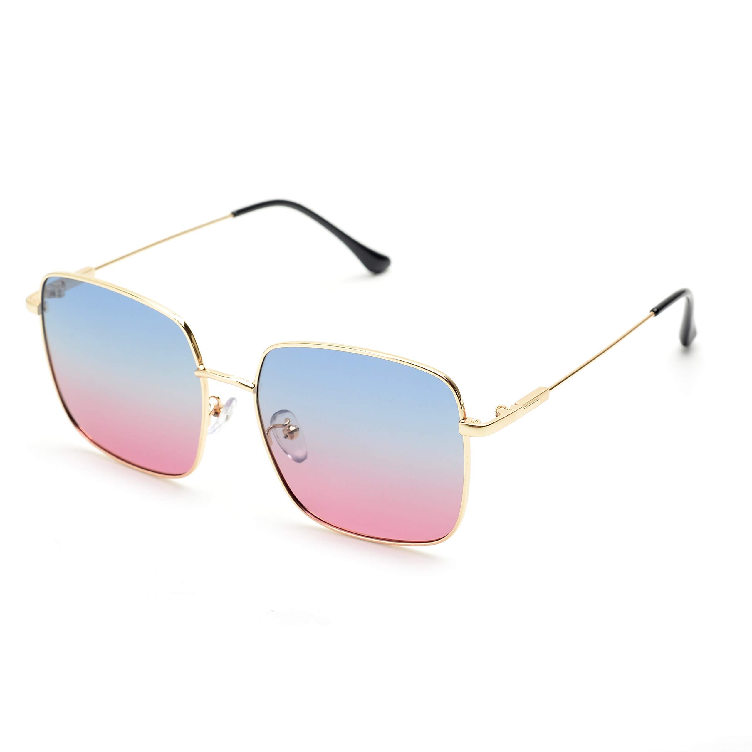 Kleidung & Accessoires Ausgefallene Vintage Unisex Sonnenbrille Sunglasses Handarbeit Maisgelb Größe S