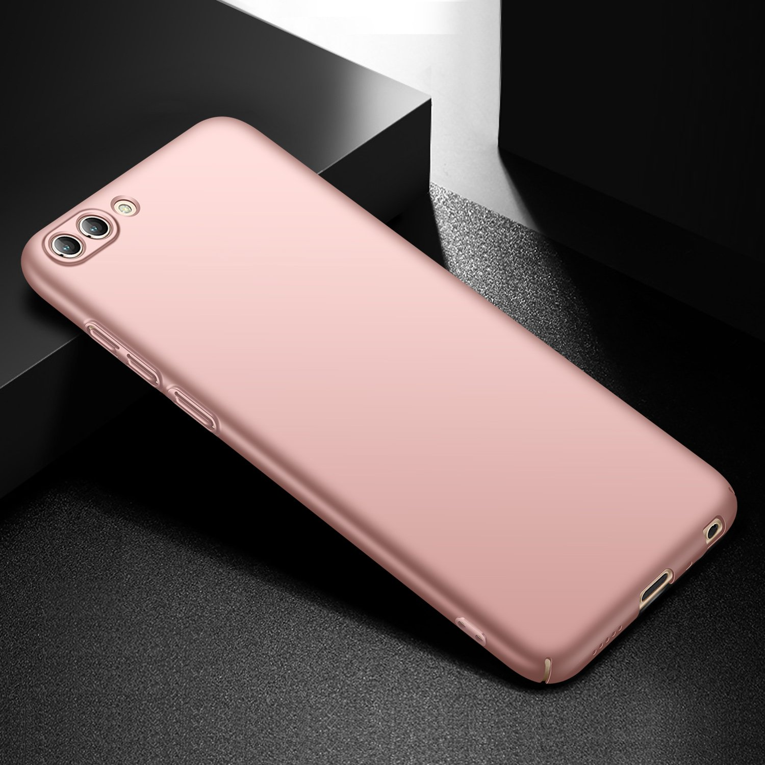 anccer Funda Huawei Honor View 10 Serie Colorida Ligera Funda Huawei Honor V10 Oro Rosa Liso Ultra-Delgado Anti-rasgu/ños Estuche para Carcasa Huawei Honor View 10 // Honor V10
